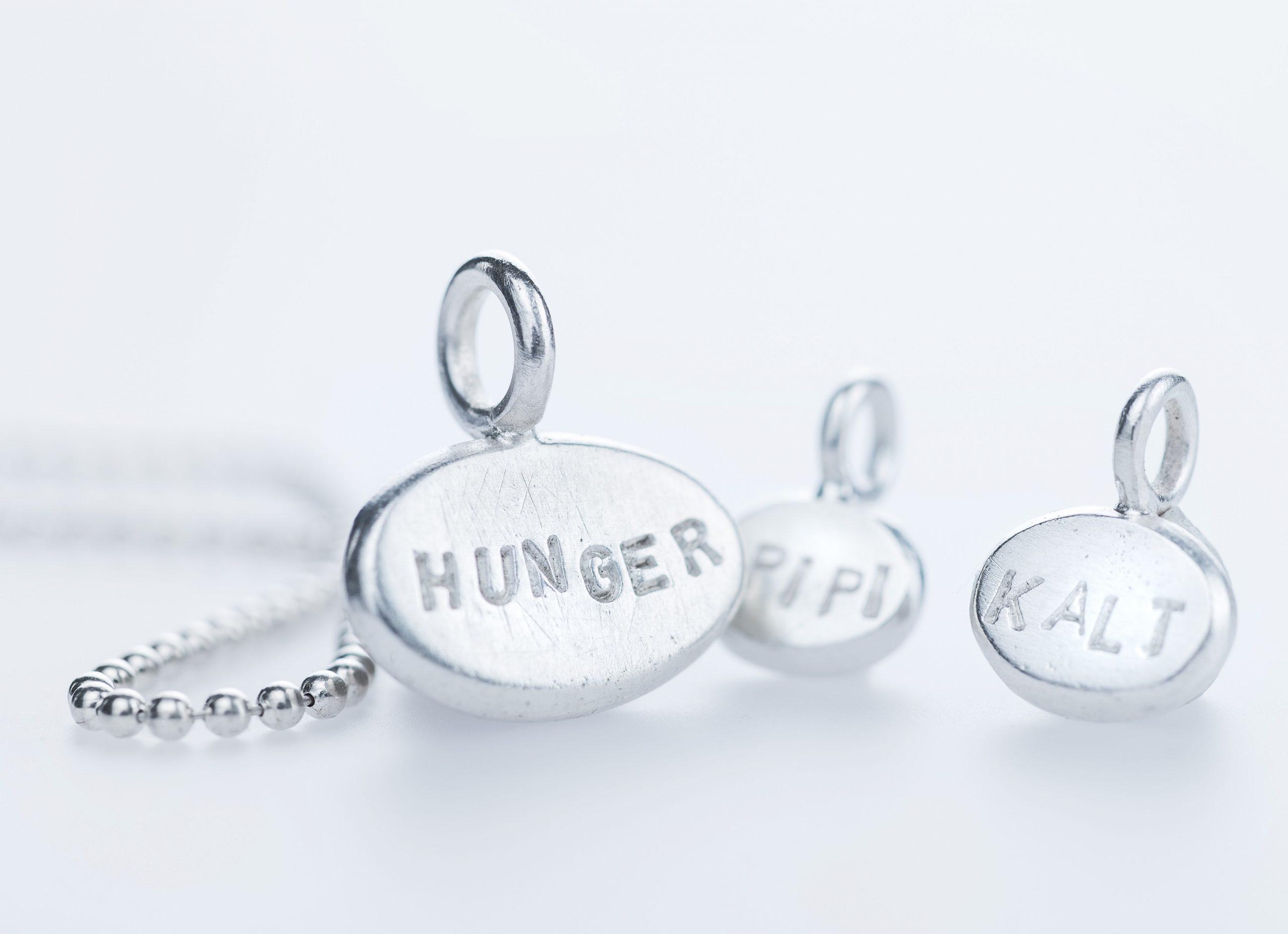 Anhänger-Silber-Hunger-Tinissima