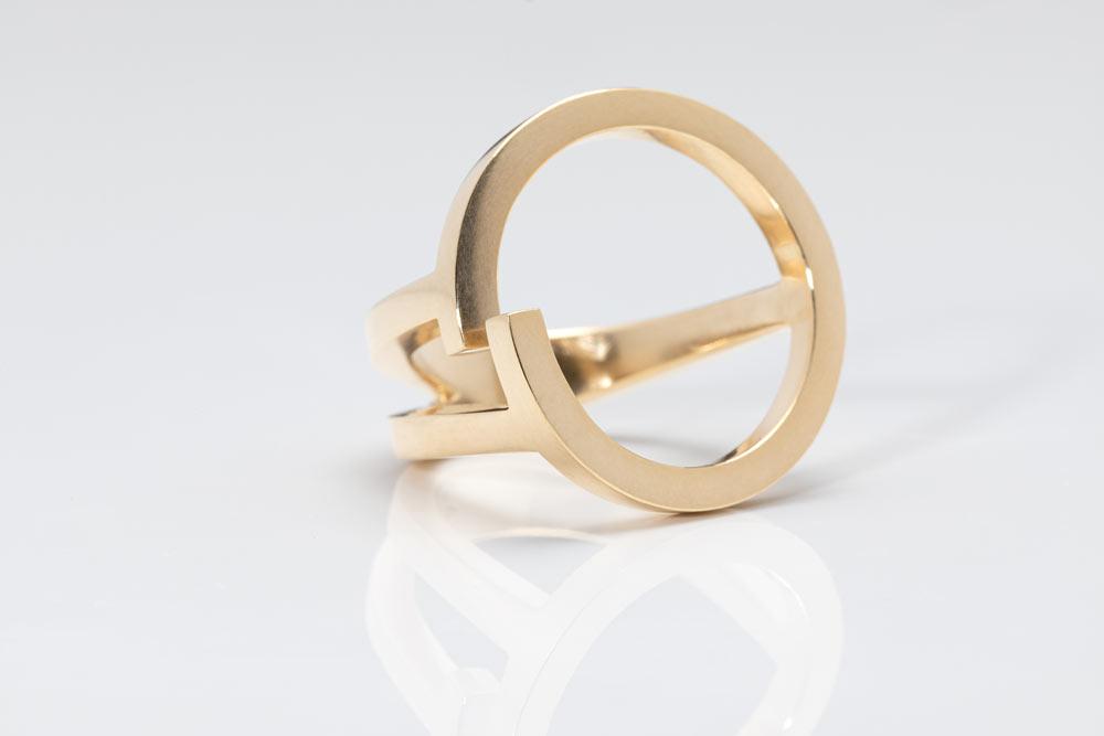 Circinius Ring - Franziska - Rauch