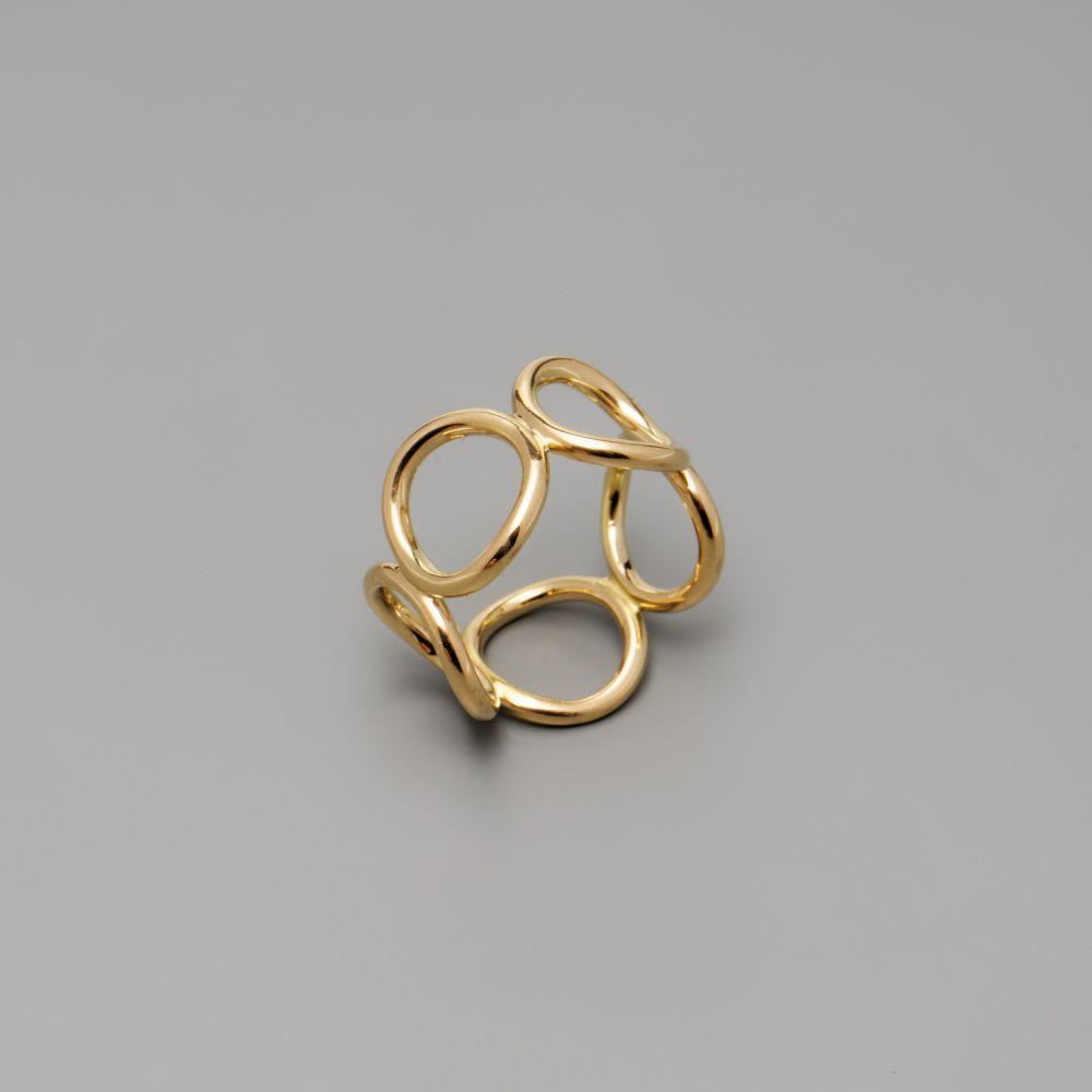 Ring-Circles-Gelbgold-Kreise