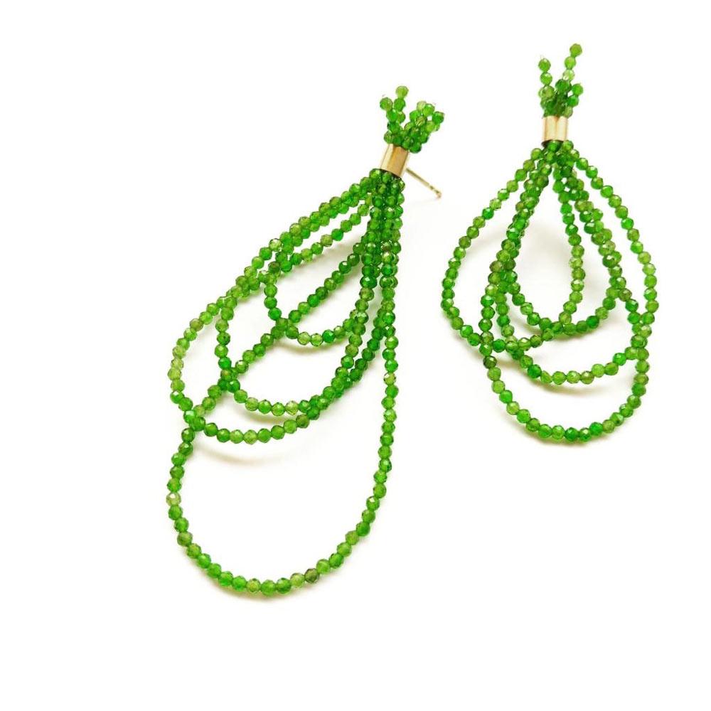 Ohrringe grün - Katja Schlegel