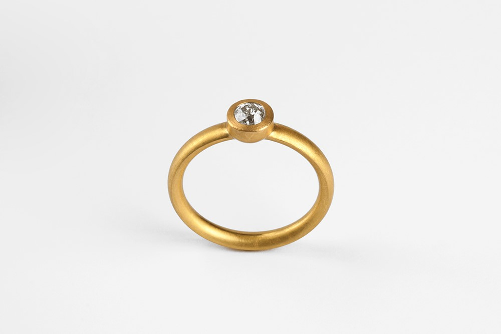 Ring-Altschliff-Gold
