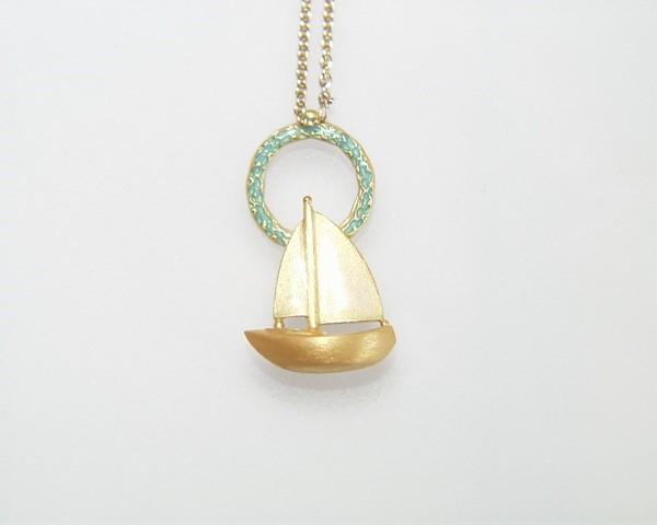 Segelboot-emailliert-steinberg