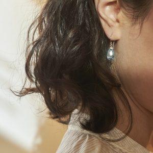 Ohrhänger Krönchen Topas
