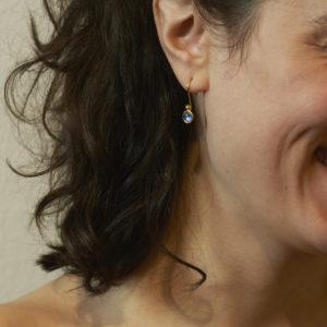 Ohrhänger Mondstein