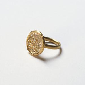 Ring Schale Diamanten
